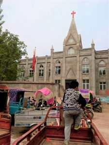Three-Self Church in Zhuzhai Town