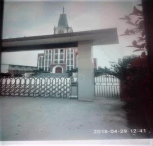 destruction of the cross of Bo'ai Church