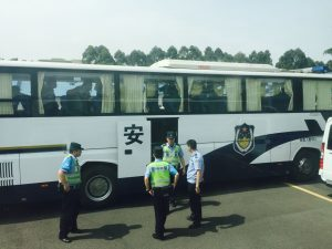 police took away the fourth group of 45 believers, 11 children among them, who arrived at the prayer gathering.