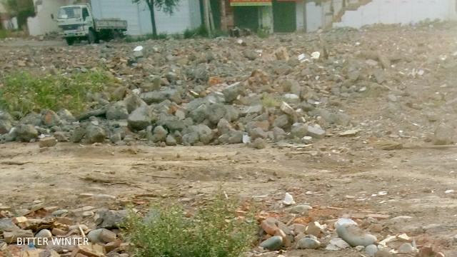 mosque demolished