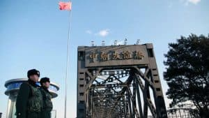 Dandong border inspection