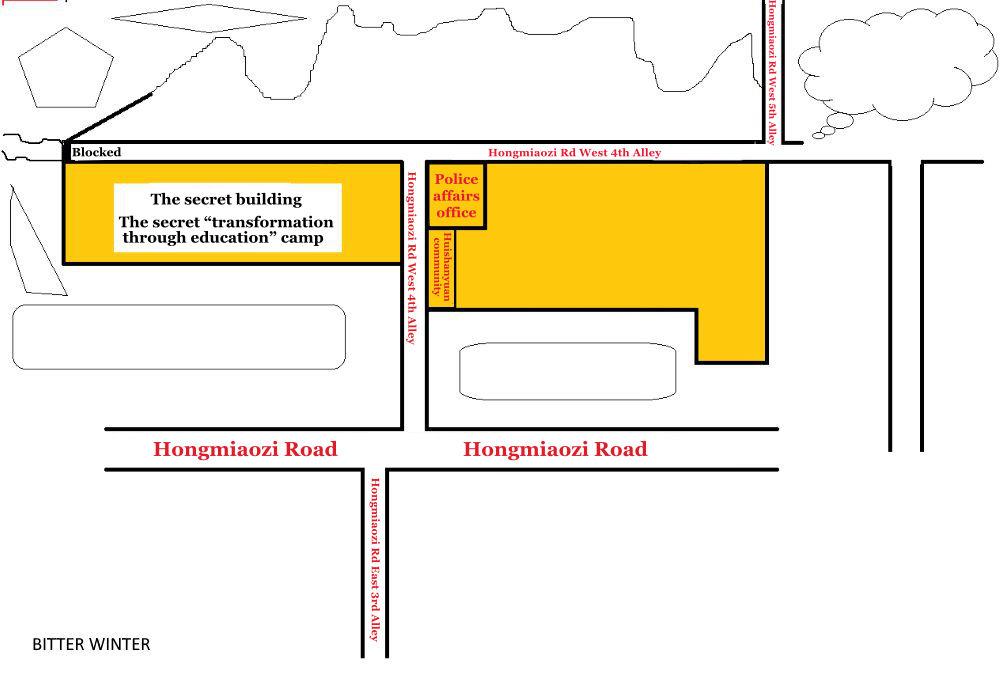 Hongmiaozi Road secret transformation through education camp diagram