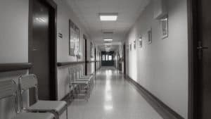 Hospital corridor (taken from the Internet)