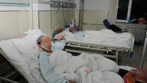 Injury hospitalization (Taken from the Internet)