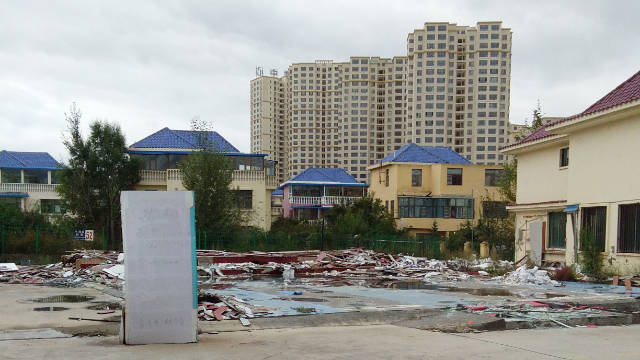 Endao International Seminary has been razed to the ground