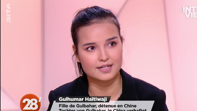 interview in the Arte news programme