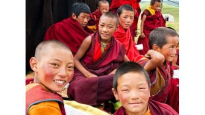 tibetan children monks