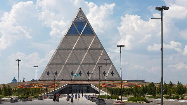 The Pyramid of Peace, Astana