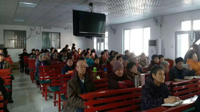 Four Requirements event held in Shengfu Christian Church