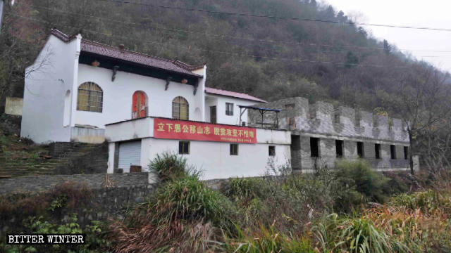 Guanyin Temple in Meijie town