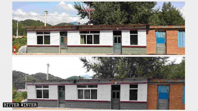 Three-Self gathering venue in Xiuyan Manchu Autonomous County