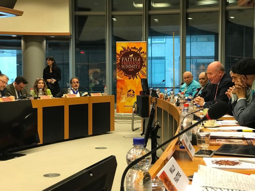 Massimo Introvigne speaks at the Faith ad Freedom Summit in Brussels
