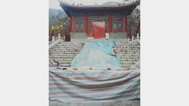 The temple located on Bijia Mountain in Hebei Province was shut down.