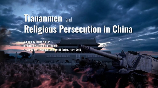 Tiananmen and Religious Persecution in China head titles