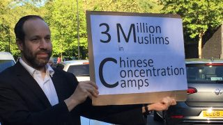 The Story of the Lonely Jew: Standing Up for the Uyghurs in London