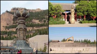 Four More Open-Air Buddhist Statues Destroyed