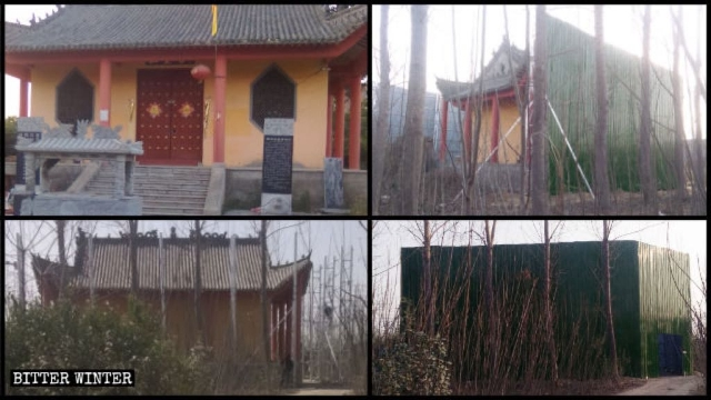 The original appearance of Jade Emperor Palace; and how it was isolated from outside world.