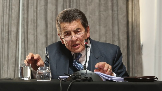 Sir Geoffrey Nice, QC, delivering the judgement of the Tribunal.