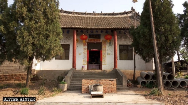 The original appearance of Xiangyan Temple