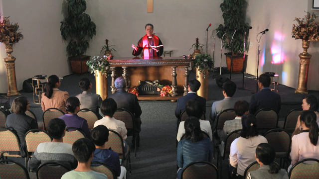 A missionary of South Korean nationality
