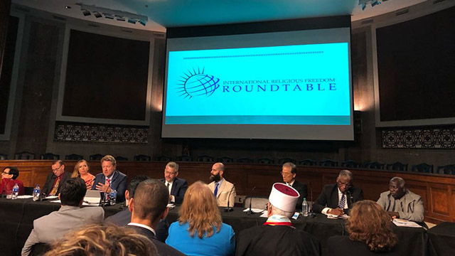 The International Religious Freedom Roundtable event
