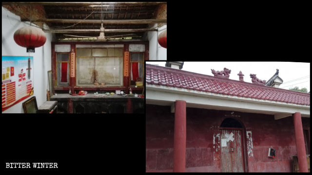 Buddhist statue is removed from Zhujia Temple
