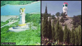 More Buddhist Statues Destroyed in Cemeteries, Scenic Areas