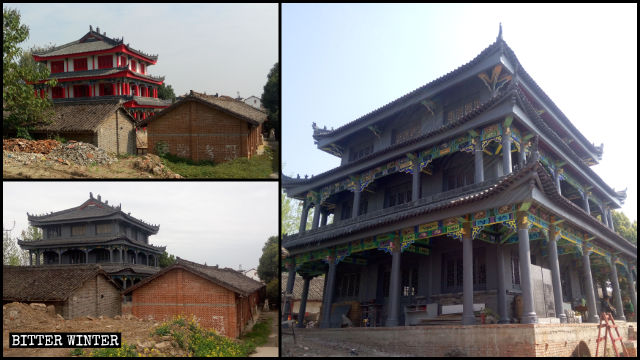 Shangyuan Temple before and after