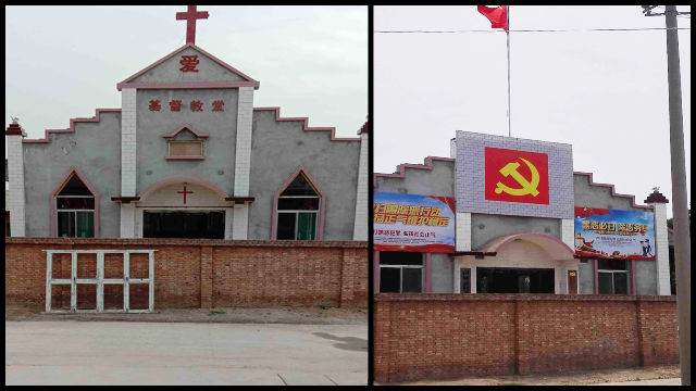 "CCP's Go-To Tool to Curb Faith – Forced ""Donation"" of Churches"
