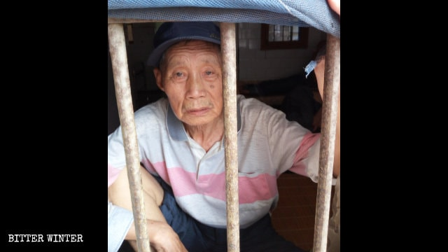 Yan Chunxiang was locked up in a mental hospital of Ezhou city in July.